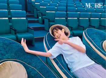 佐藤栞里の妄想劇場! デートでプラネタリウムに来たら……♡?【モデルのオフショット】