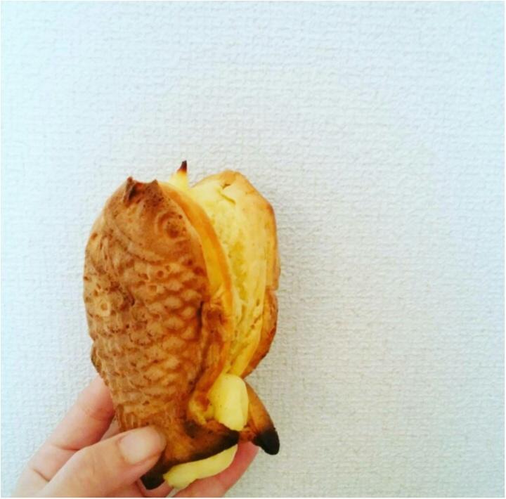 私の好きな【くりこ庵】たっーぷりクリームが美味しい鯛焼き♡_1