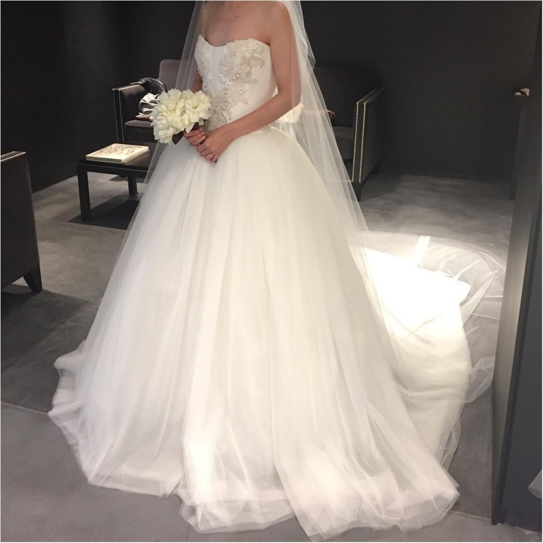 【#ドレス迷子】weddingドレス、実際に着てみました✧asuの運命の1着に巡り合うまでのドレス試着レポート①_4