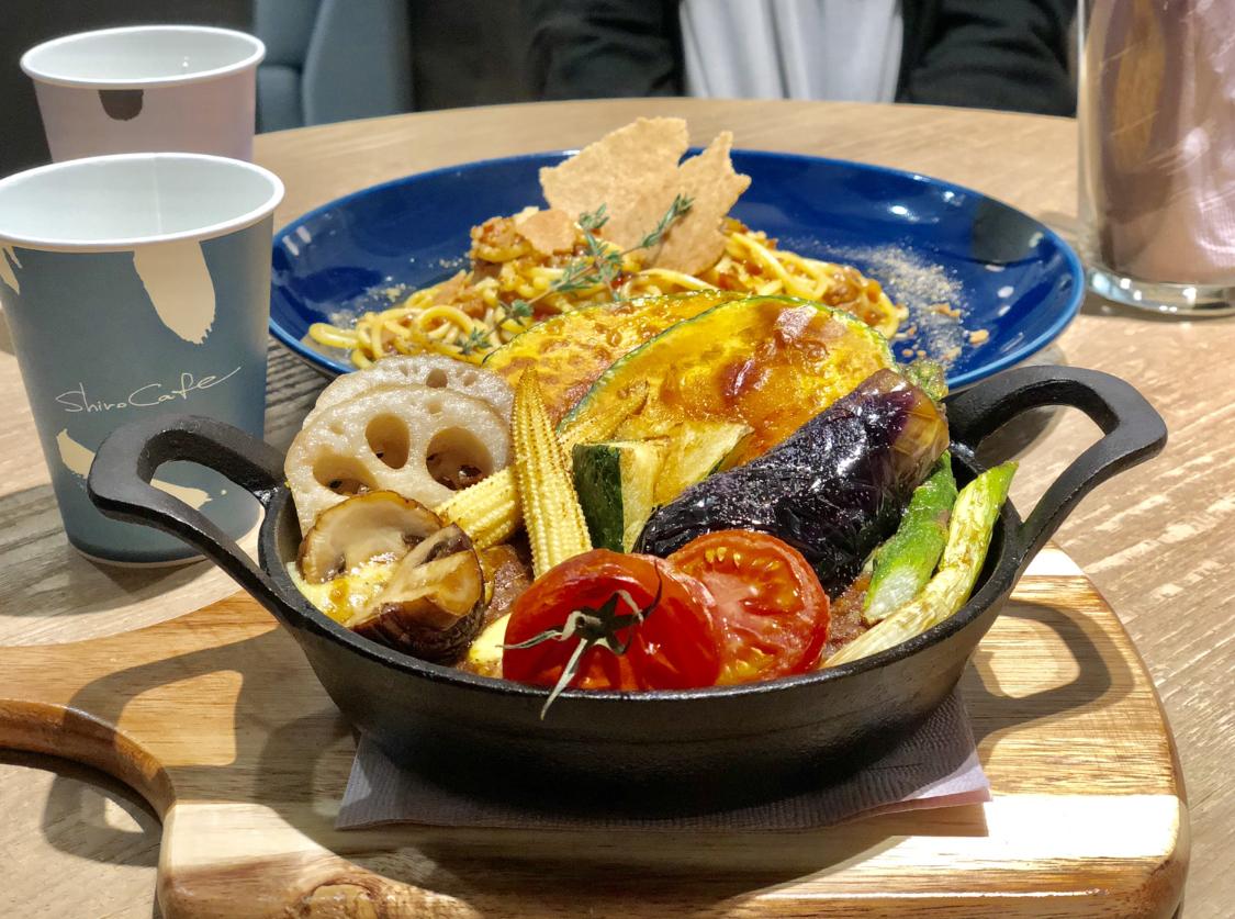 食べるだけでキレイになれそうな【shiro】の身体に優しいヴィーガンランチ❤️_3