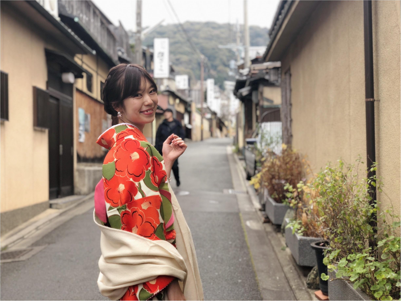 京都に行ったら〈着物〉が着たい!ということで、着物で向かった先は、、??_3