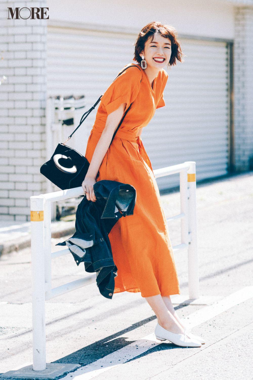 3ebdc0601c0 涼やかなリネン素材&カシュクールデザインで大人の女性らしさを独占♡ 着るだけで女性らしいおしゃれが叶うリネンのワンピースはこれからの季節にマスト!