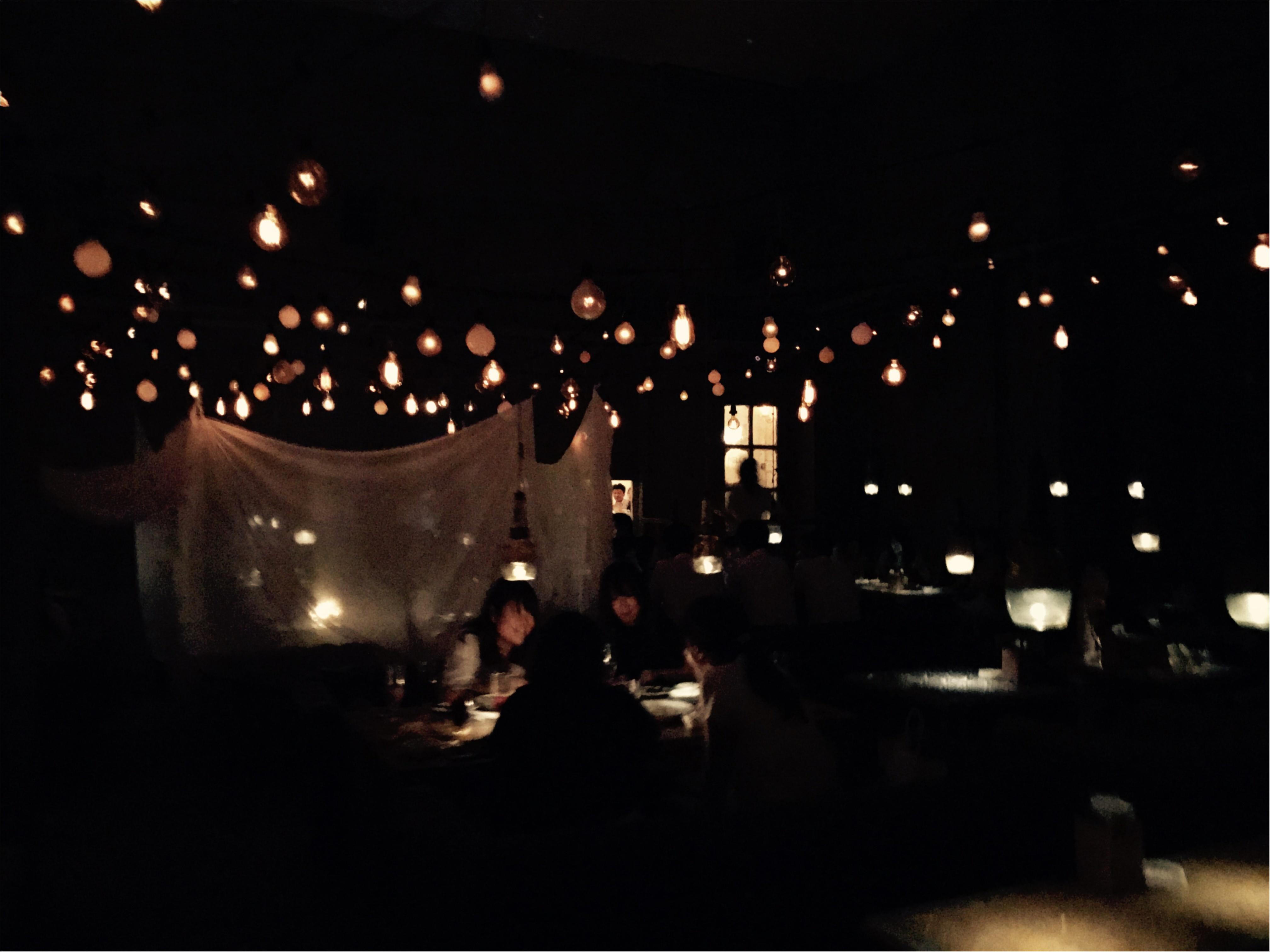 【銀座でお洒落ディナー】5/30 NEWオープン!まるでプラネタリウム!?「and people 銀座」_1