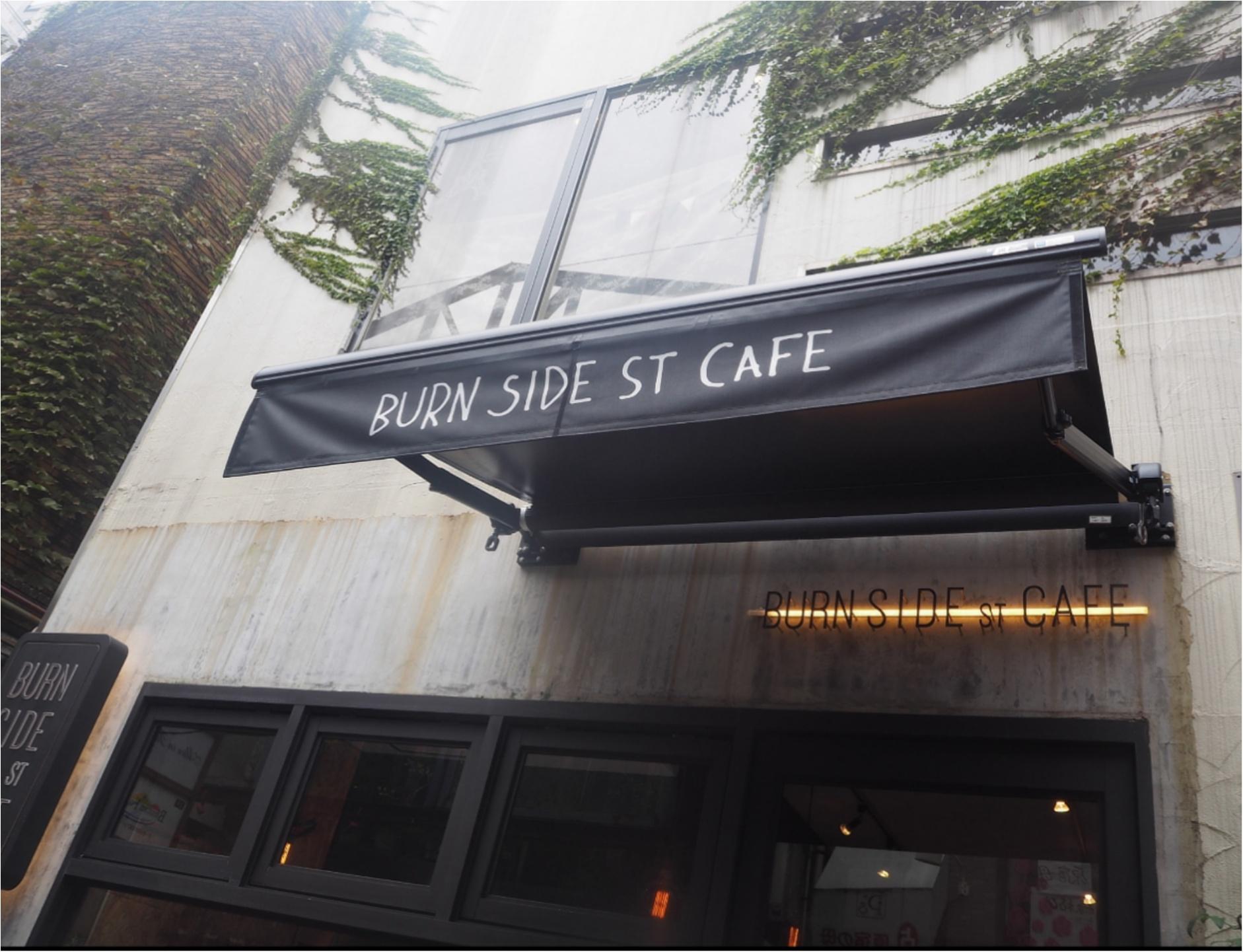 早く起きた朝は「burnsidestcafe (バーンサイドストリートカフェ)」でパンケーキがオススメ!_1