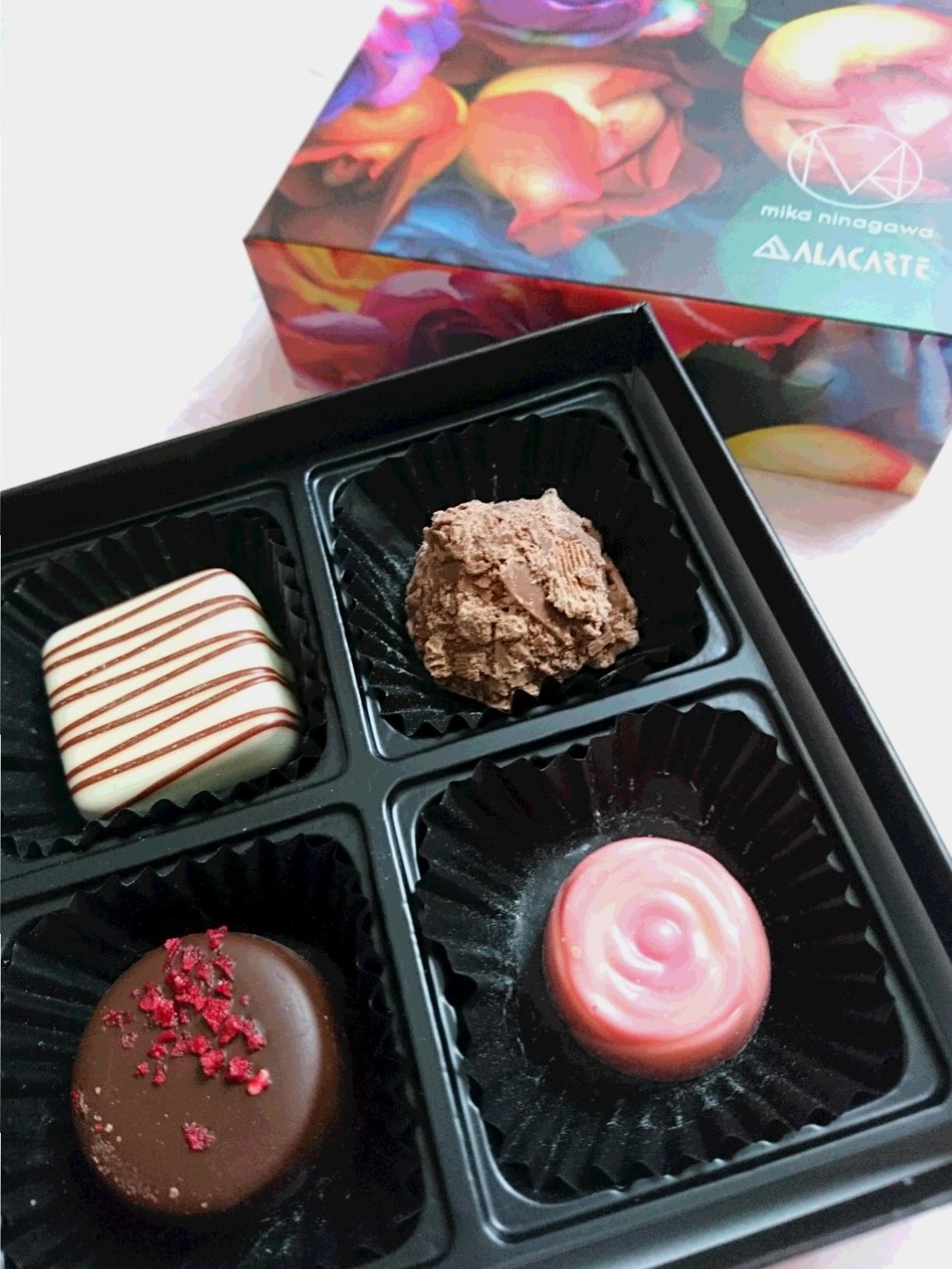 自分用バレンタインチョコは…蜷川実花さんコラボ・スペシャルパッケージのALACARTEチョコ♡_2