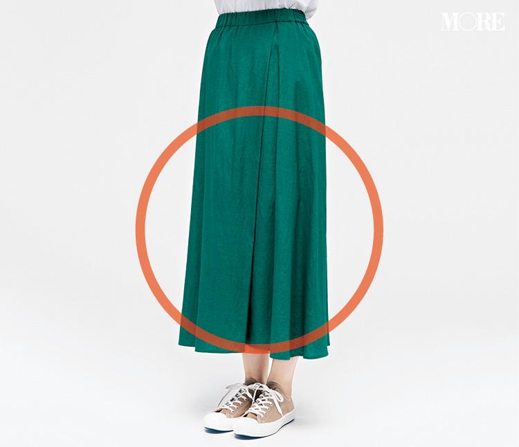 定番ぺたんこ靴 × 定番ボトム、いちばんきれいに見える組み合わせは!? 全部はいてみました☆_2_2