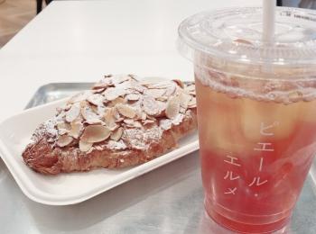 """<東京・丸の内>カタカナの""""ピエール・エルメ""""ロゴがフォトジェニックなカフェに行ってきました!♡"""
