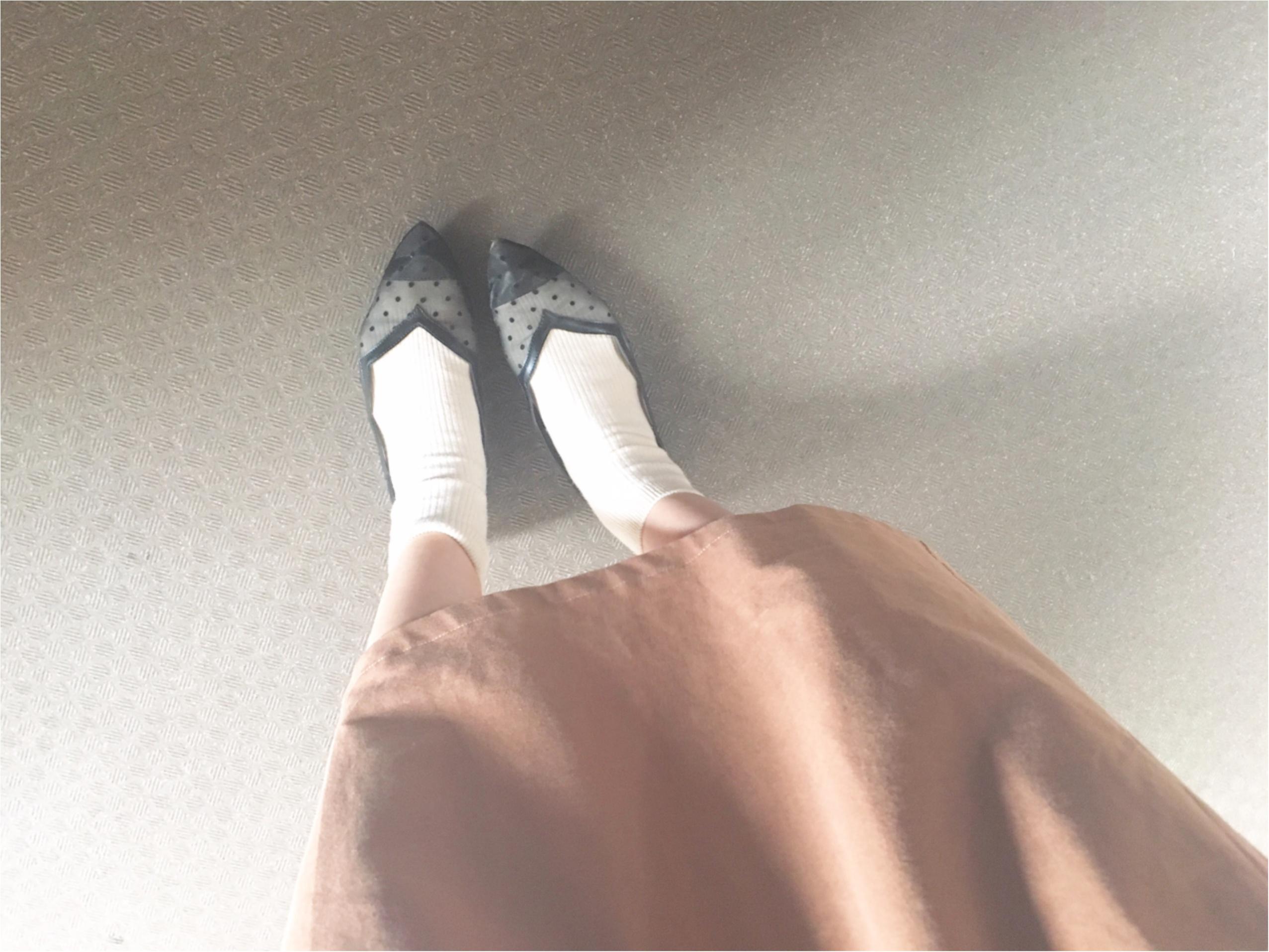 【GU(ジーユー)】大注目!!ドット柄の『チュールレースサンダル』がかわいすぎる♡_1