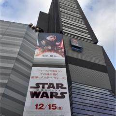 Star Wars最新作『The  Last Jedi』を見てきました!☆