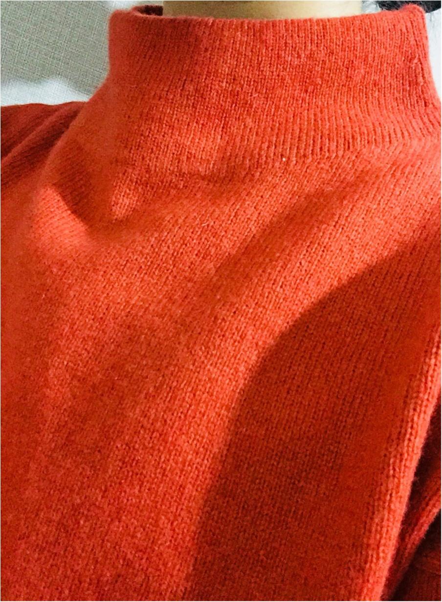 【UNIQLO de お買い物❤︎】寒い冬の気分を上げる!形がキレイ&明るい色のニットを買い足しました✌︎_2