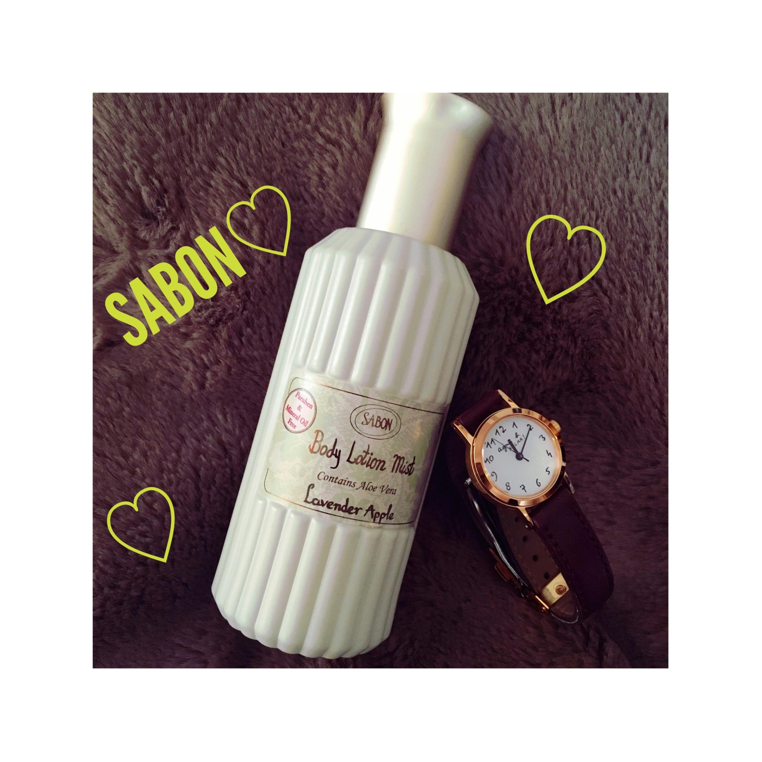 《香水?化粧水?どっちもなんです★》【SABON】のボディローションミストでいい匂いも!保湿も!かないます❤️*_1