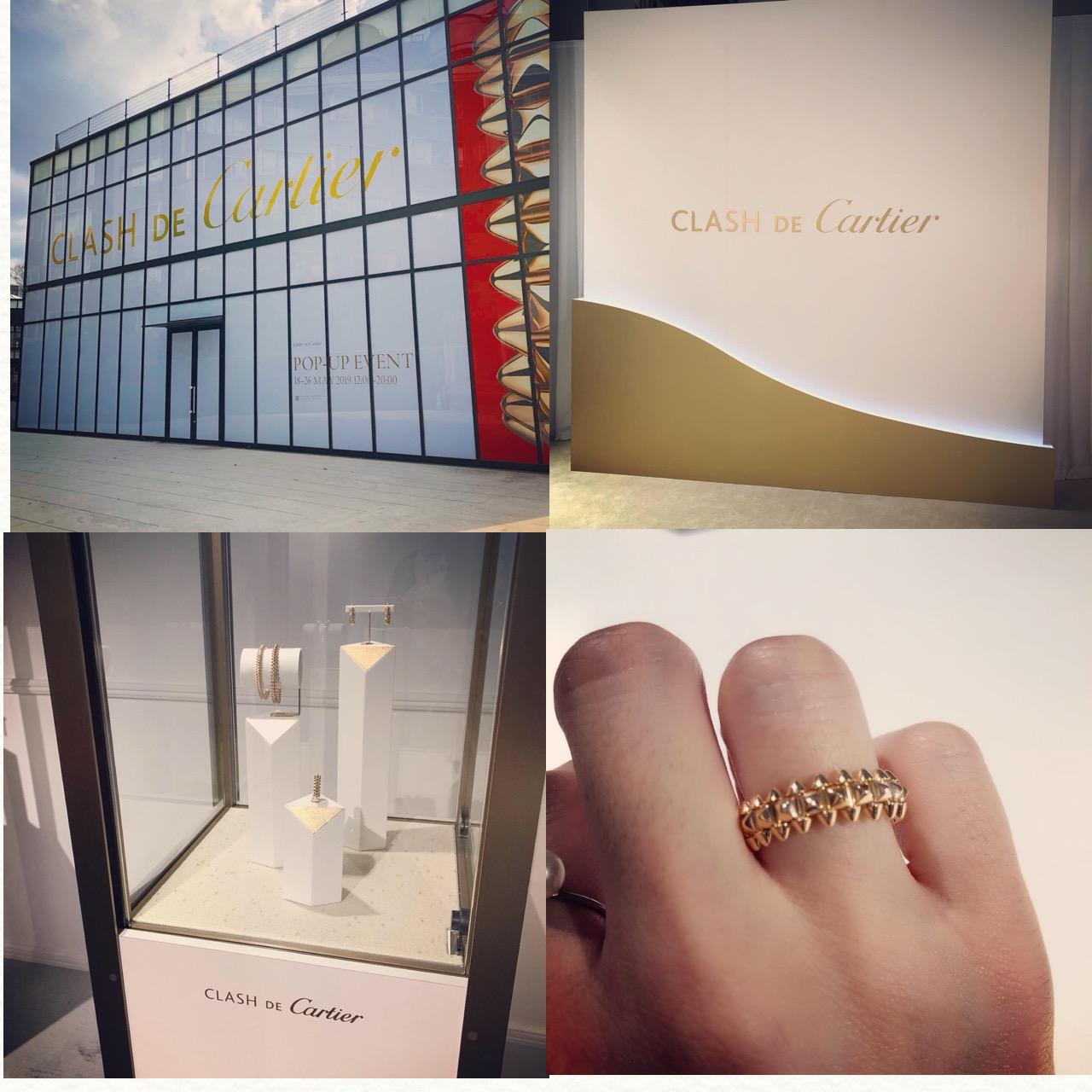 """<5/26まで!>カルティエの新作ジュエリーコレクション""""CLASH DE Cartier""""期間限定ポップアップイベントへ行ってきました!♡_7"""