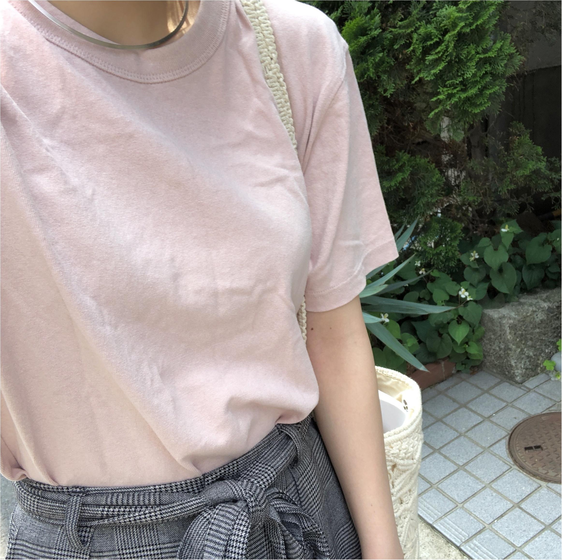 コレクション化しつつある【UniqloU】のシンプルTシャツ。ヘビロテしているカラーはこれ♡_2