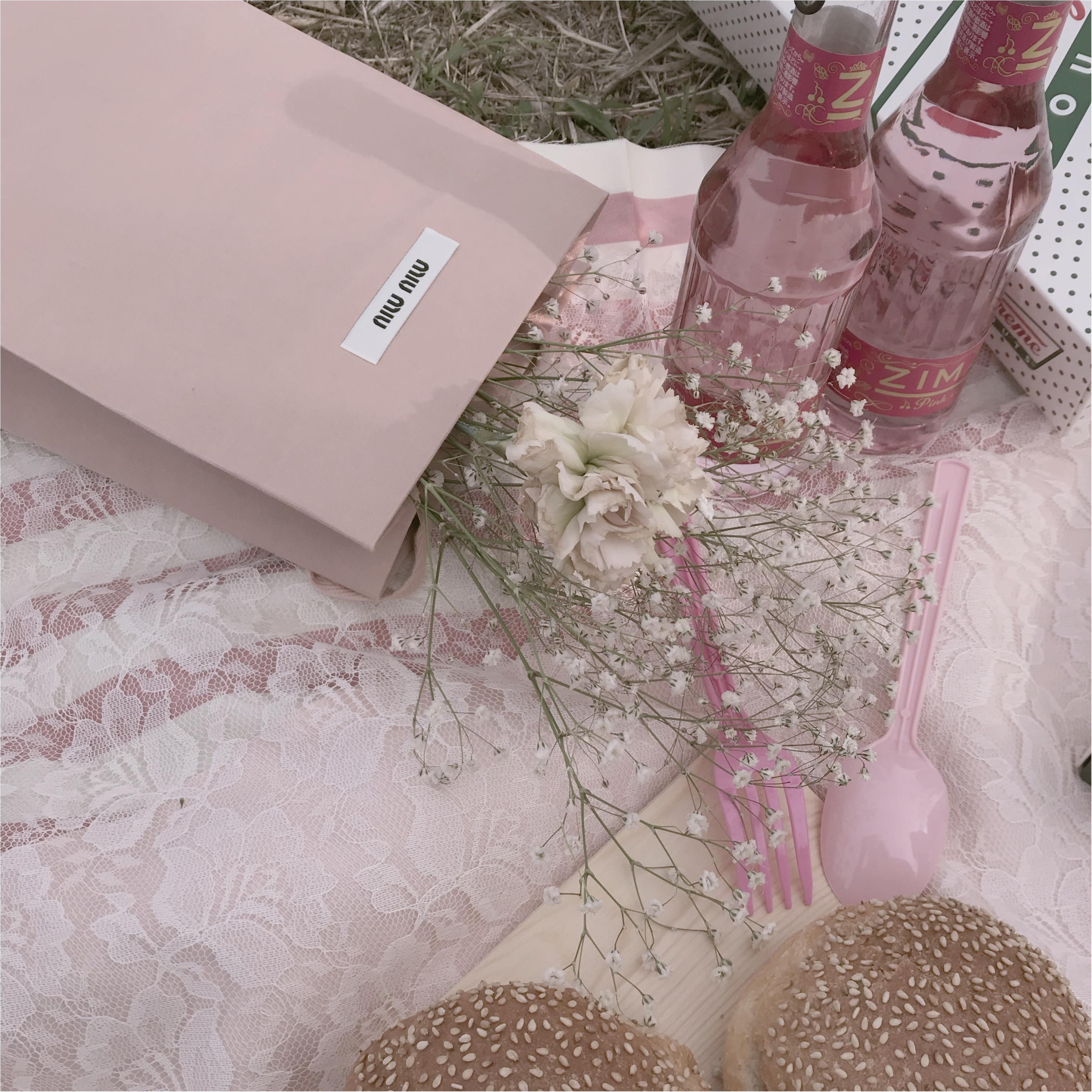 桜の下でピクニック❤︎簡単におしゃれでかわいい【おしゃピク】できます!_7