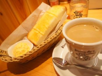 《ドリンク代だけでトースト付き❤️》【コメダ珈琲】のモーニングがやっぱり美味しい☻