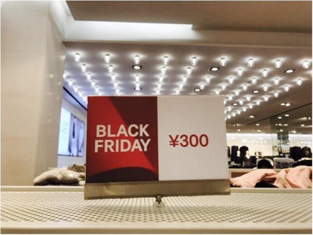 【Black Friday(ブラックフライデー)】GAPも!H&Mも!!とにかく安い!!私は《破格の価格》で◯◯をGETしちゃいました★_8_2