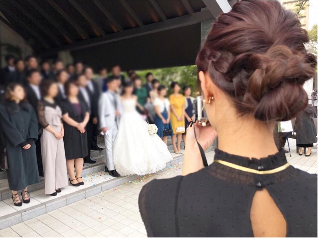 【結婚式のいろいろ】弟の結婚式に参加してきました♡‐八芳園‐_3