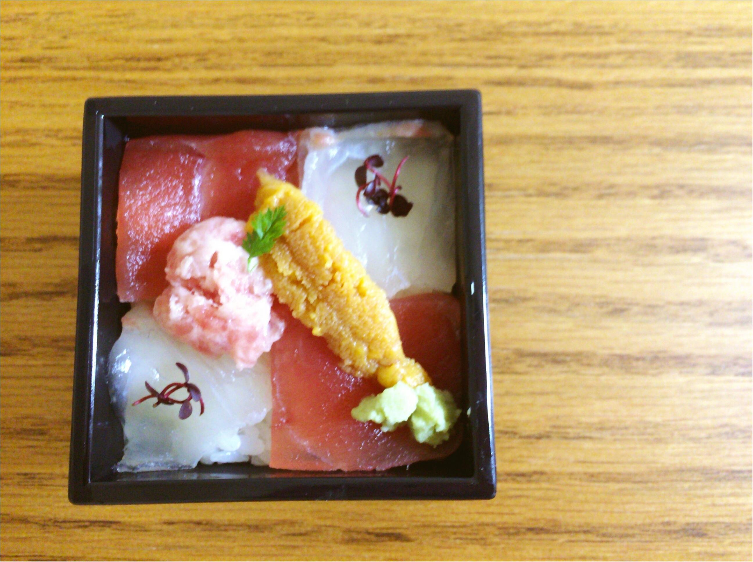 東京駅で買える【築地の寿司】小ぶり♡可愛い『一合一会』駅弁シリーズは新幹線のお供にGood◎_3