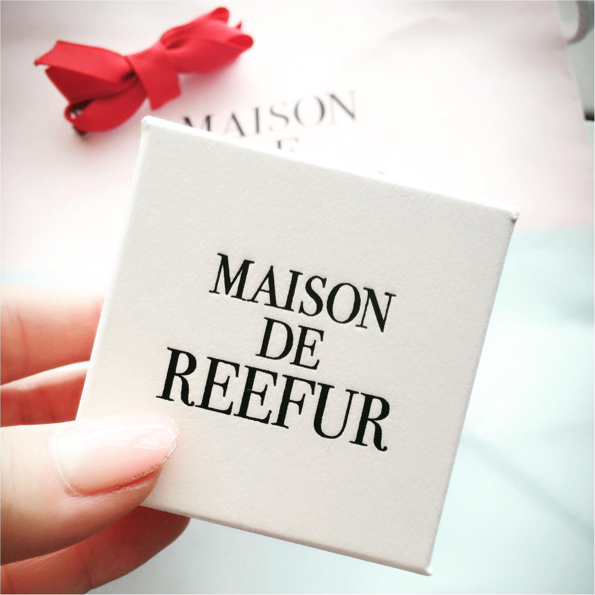 MAISON DE REEFUR KIOSQUEで発見!プチプラきらきらリングにひとめぼれ♡_2