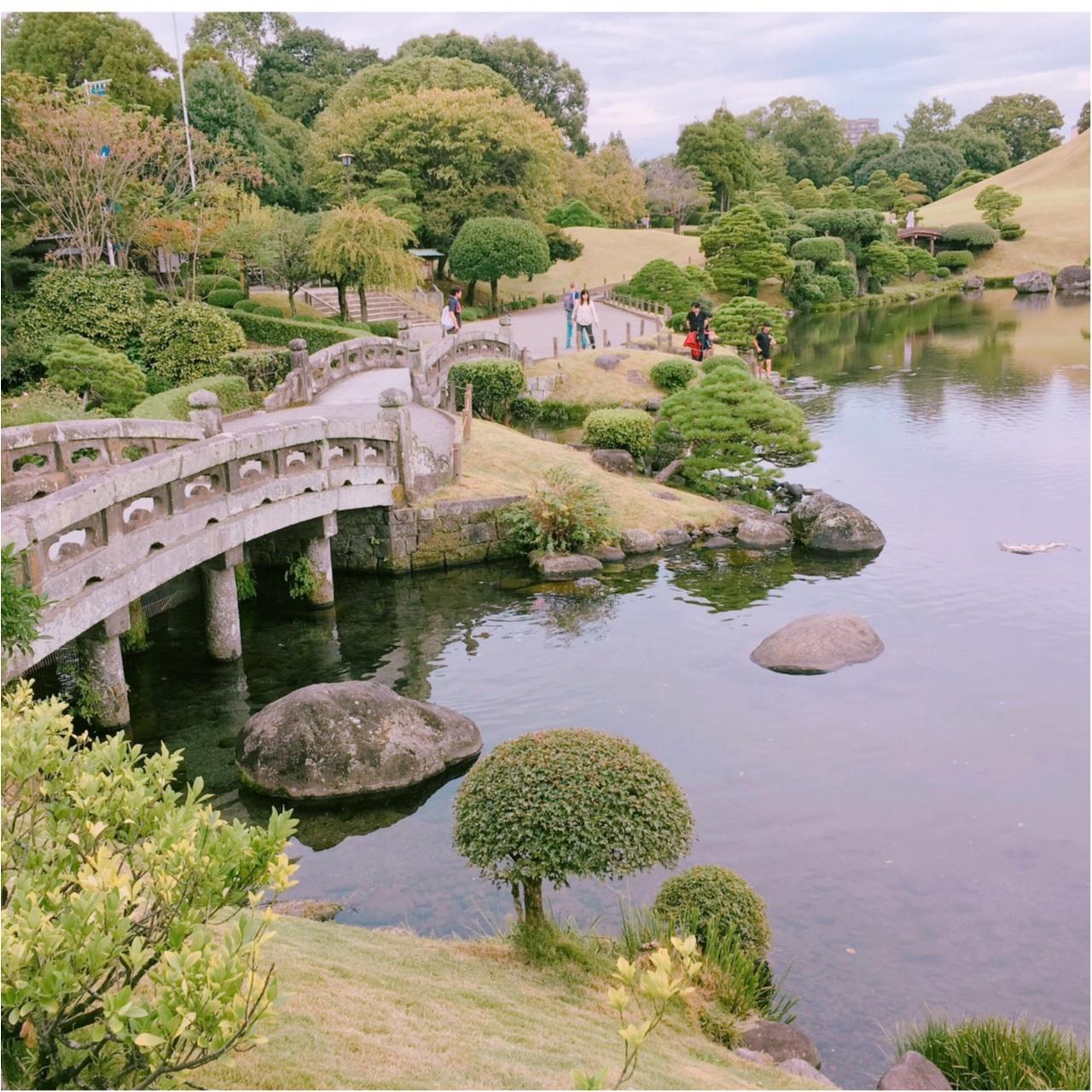【動画で紹介!】熊本市内に発見! SNS映えする美しい庭園「水前寺成趣園」でリフレッシュ!【#モアチャレ 熊本の魅力発信!】_1