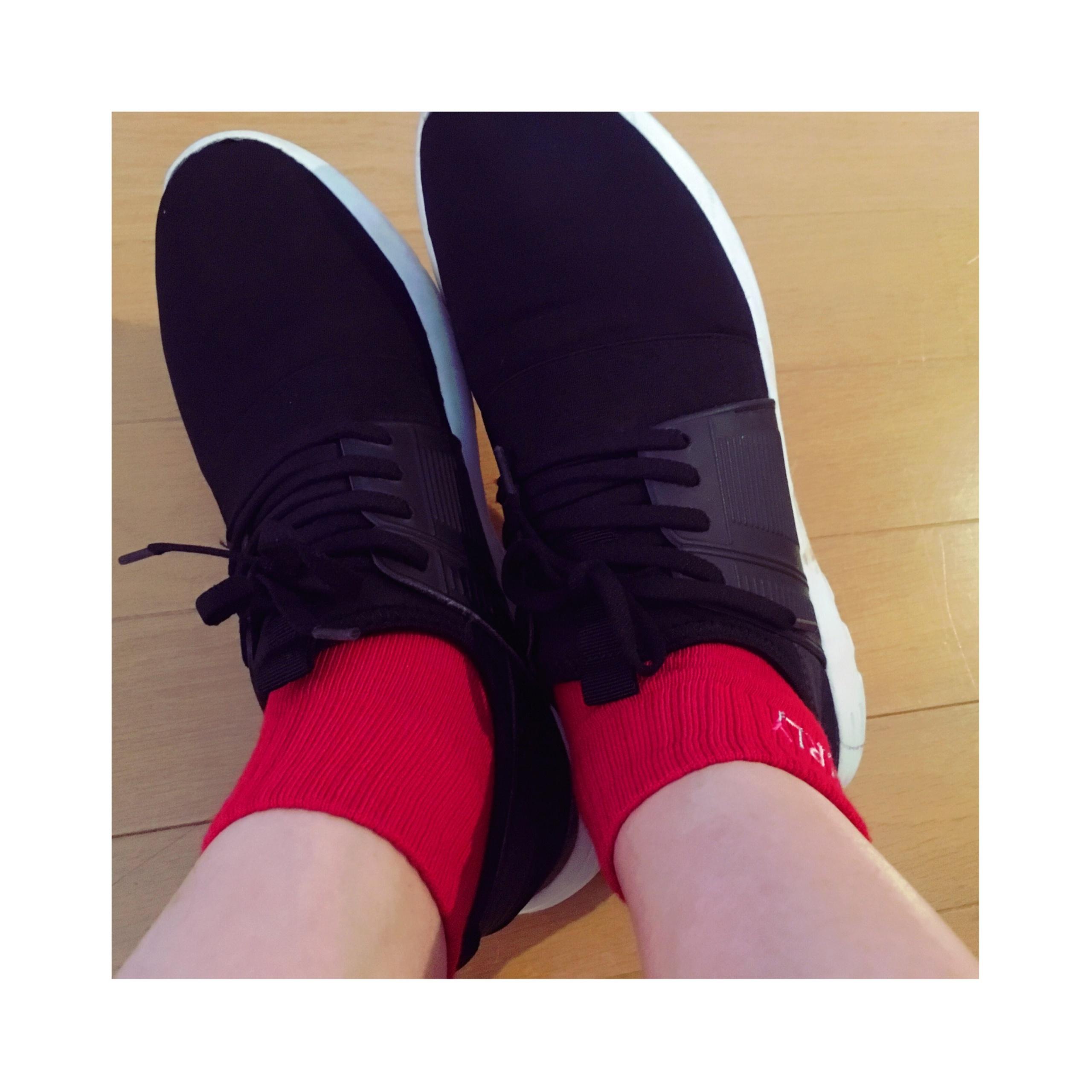 《ソックスコーデが増えるこれからのシーズンにぴったり★》思わずイロチ買いした【DAISO】のALL ¥108靴下がかわいい❤️-スポーツmix編-_5