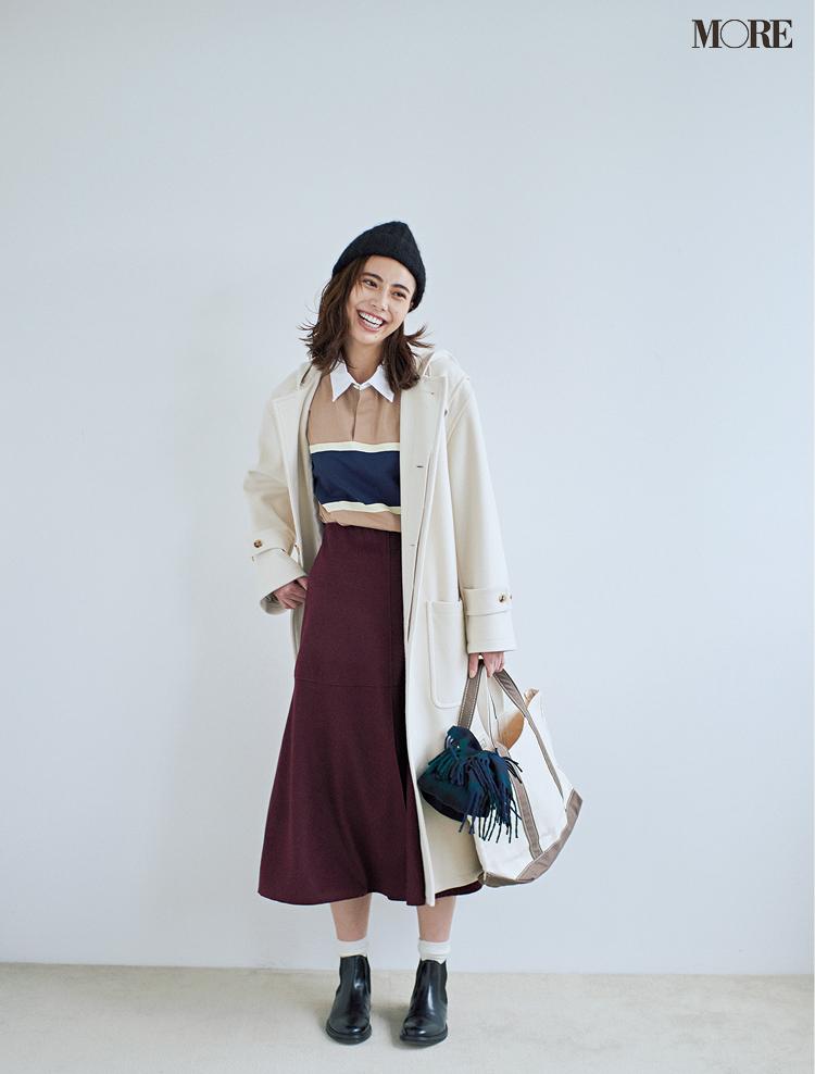 冬の白を誰よりおしゃれに着るために、守るべき配色ルールは「たった1つ」!_4