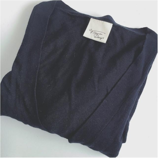 ◆◇紫外線&冷え対策◇◆MORE掲載!オリジナルブランド FlowerDaysのロングカーデを着てみました♪_3