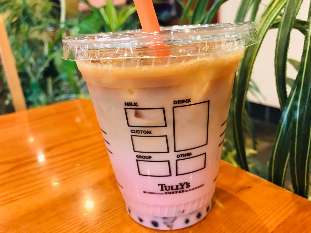 【タリーズ新作】絶対美味しい!最強コラボ❤︎《タピオカいちごカフェオーレ》が新登場♡_3