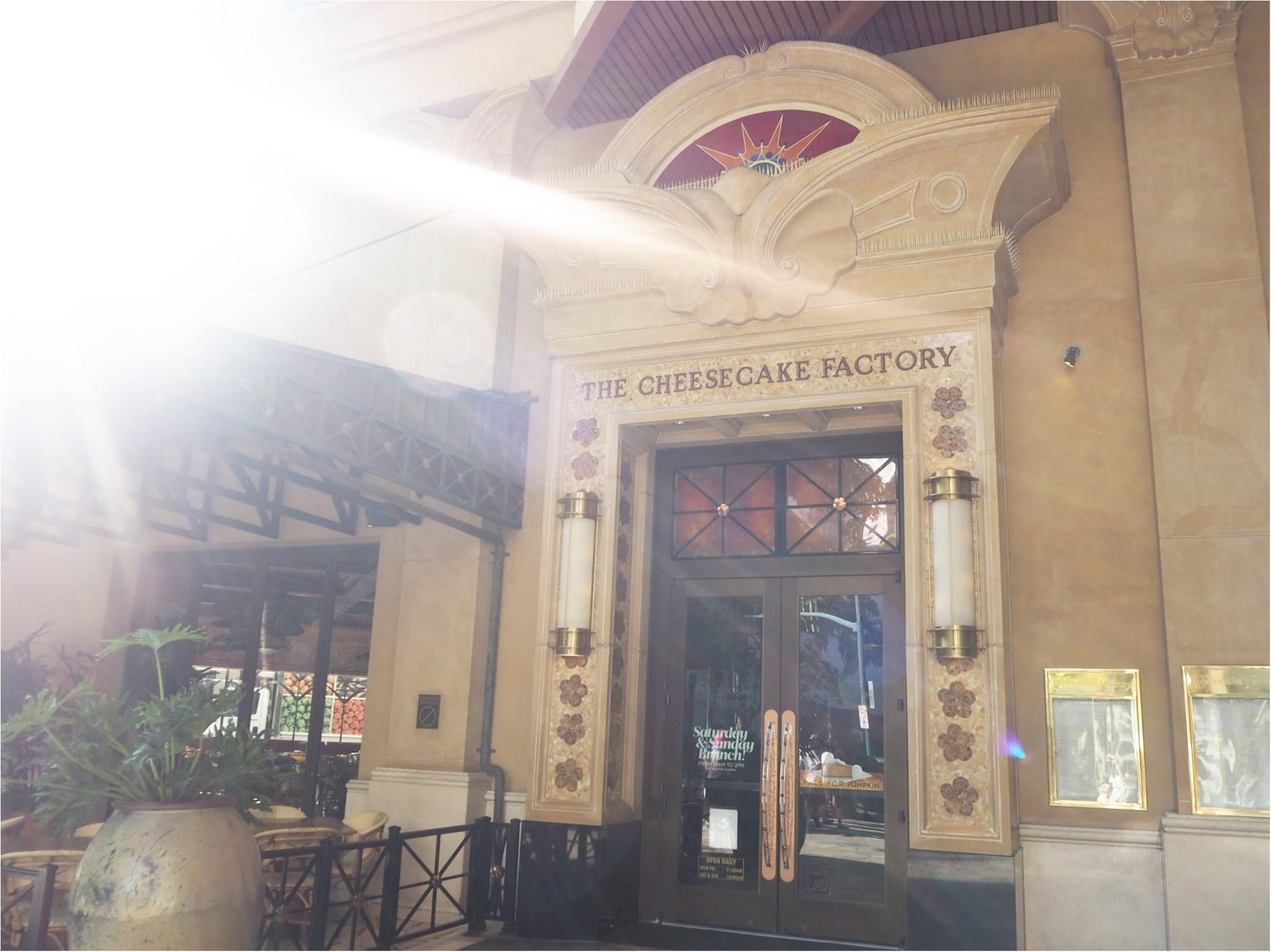 《行列のできるチーズケーキ専門店!》The Cheesecake Factory(チーズケーキファクトリー)で並ばずにおいしくいただく方法!!_2