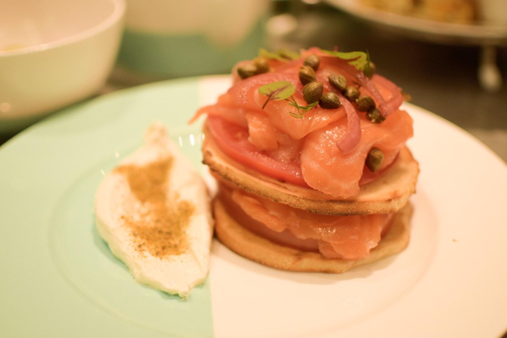 【NY】5番街で「ティファニーで朝食を」実際に食べれる!?The Blue Box Cafe【Tiffany】_9