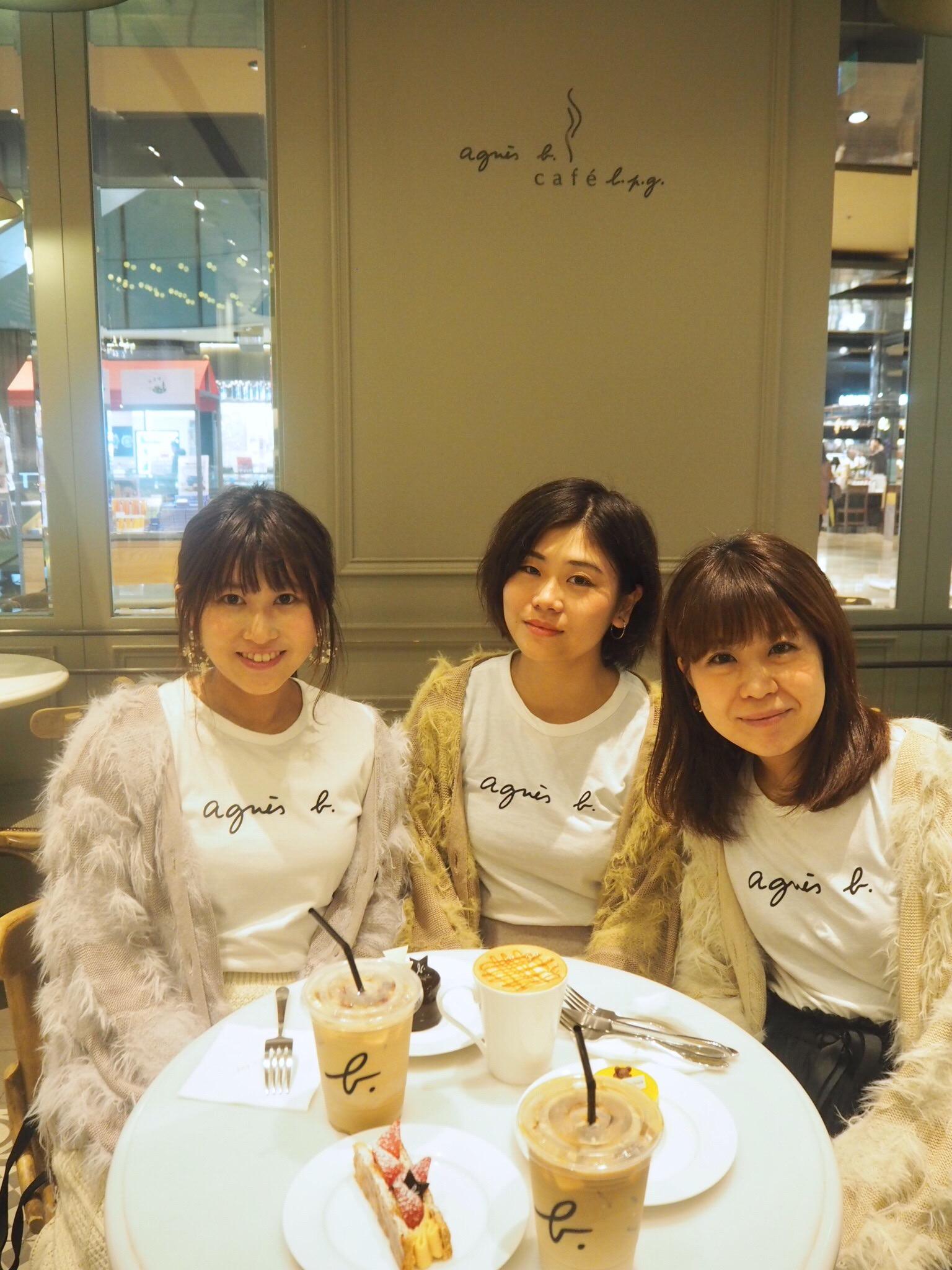《台湾女子旅》日本未上陸!アニエスベーTシャツを着て『Agnès b. CAFÉ』_2