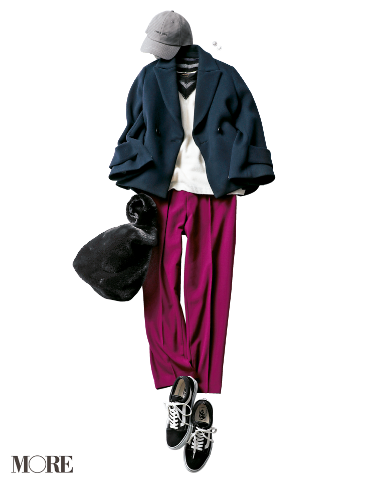 20代女子に似合う【きれいめの服×スニーカー】のコーデまとめ | ファッション_1_6
