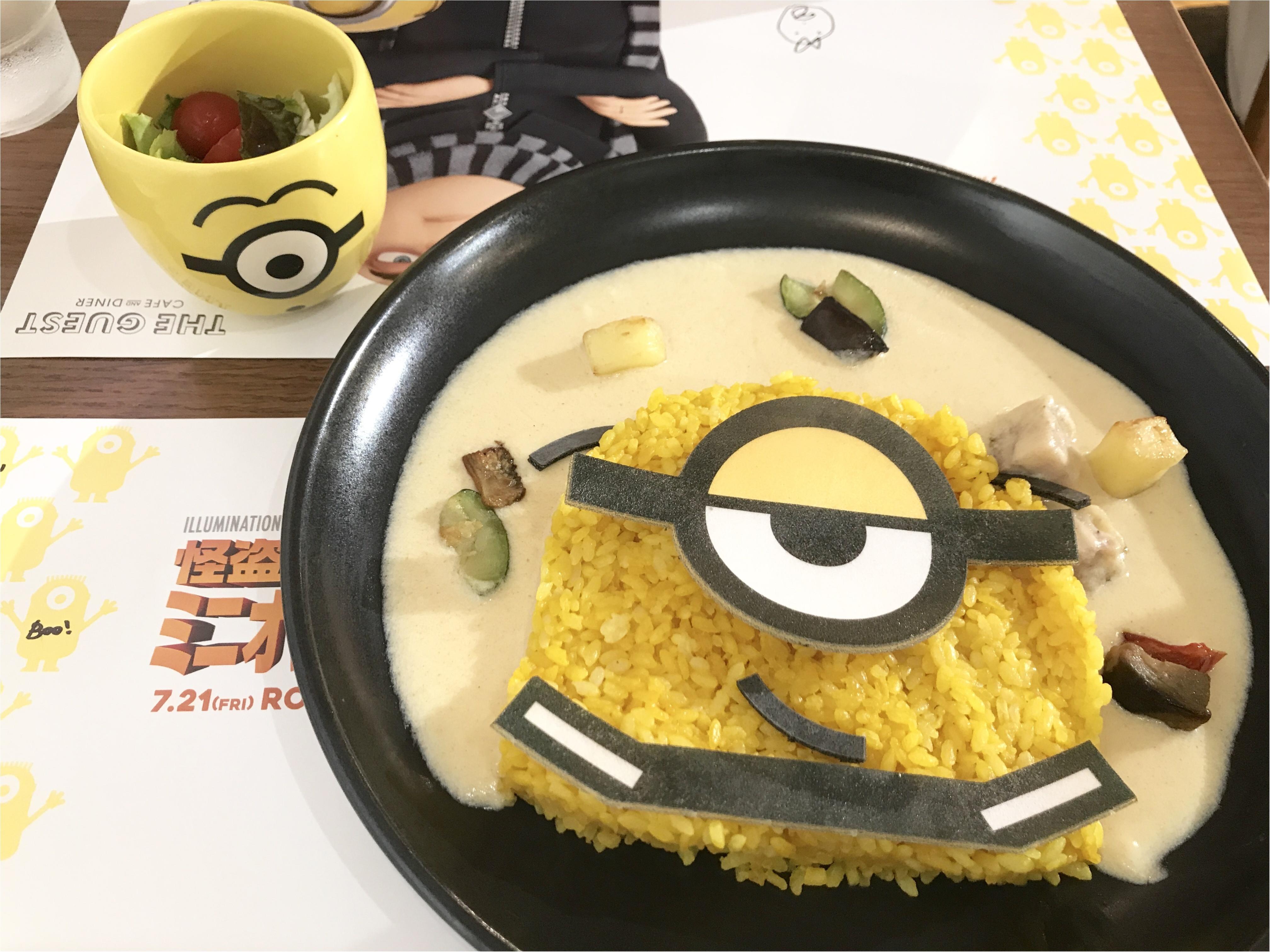 【FOOD】夏休みのおでかけに!怪盗グルーのミニオン大脱走 #ミニオンカフェ に行ってきました★_4