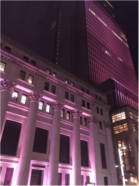 【日本橋桜フェスティバル2017】の【桜色ライトアップ】で一足早くお花見気分(*°○°*)♡_4