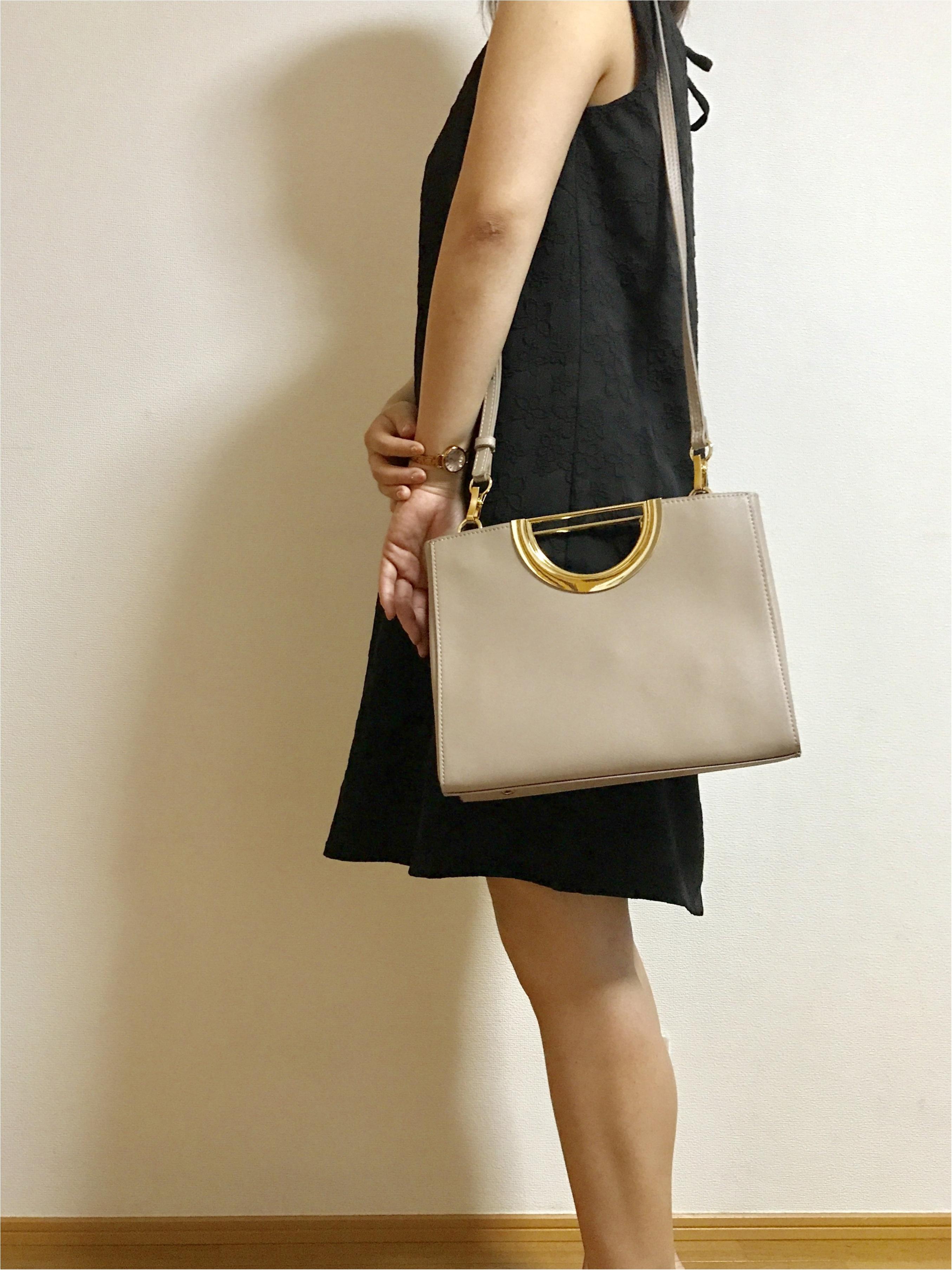 【リングハンドルバッグ】3wayで使えるバッグを購入♡♡_5