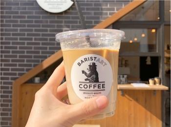 こだわりのミルクを3種類から選べる♡ 《 バリスタートコーヒー 》の濃厚カフェラテ♡♡
