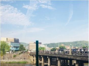 世界で唯一「川床」がある【京都】の三条大橋にある≪スタバ≫に行ってきました!