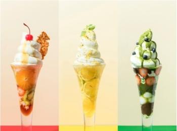 「グロリアス チェーン カフェ」の心斎橋店限定パフェがフォトジェニックすぎ♡