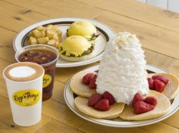 ブランド初のカフェ「Eggs 'n Things Coffee」が、「高崎オーパ」にやってくる!!!