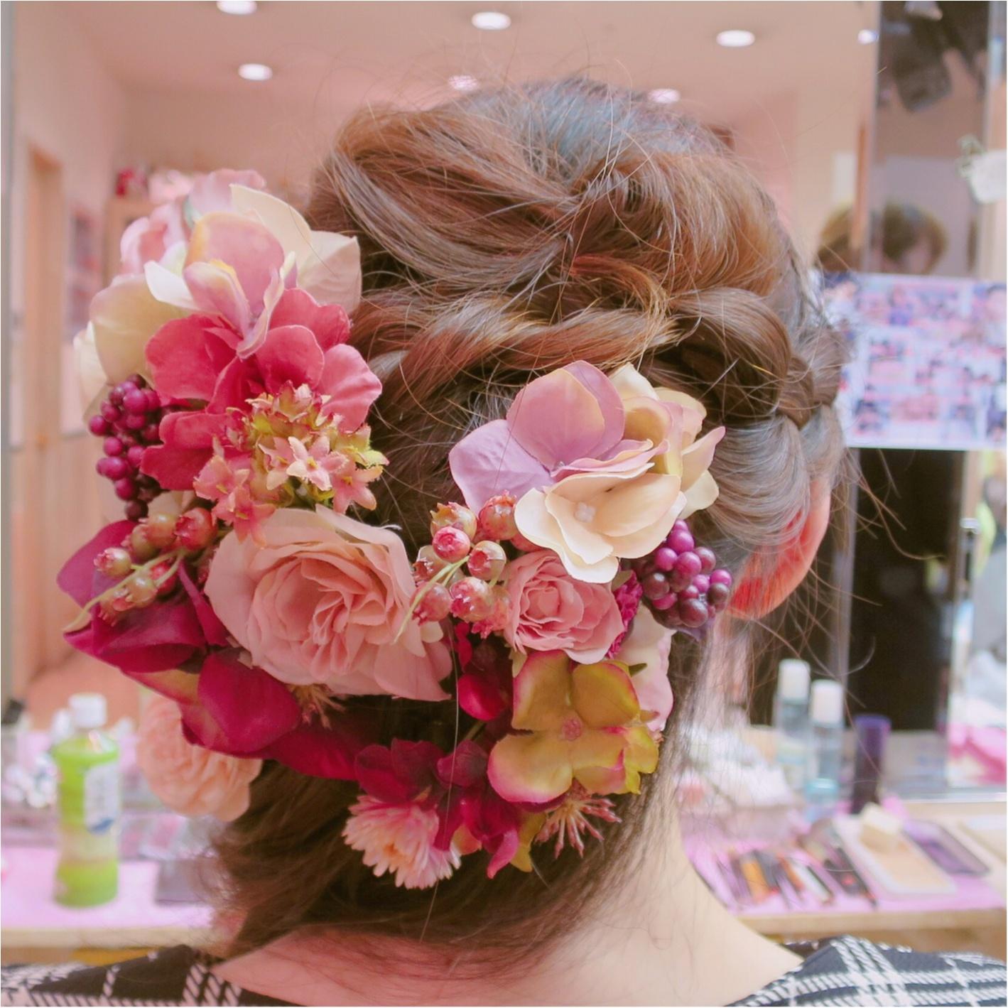【Wedding】私のヘアスタイル♡ かわいいお花でラプンツェルみたいに♪  結婚式で後悔しないようにしておくべきこと *_2