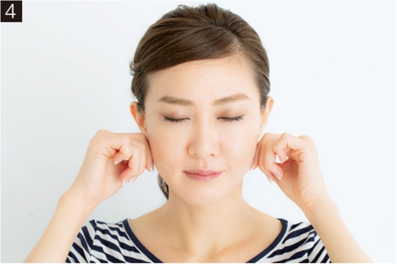小顔づくりは急がば回れ! 小顔のプロ・貴子先生が教える「25歳からの小顔貯金」エクササイズ♡_5_4