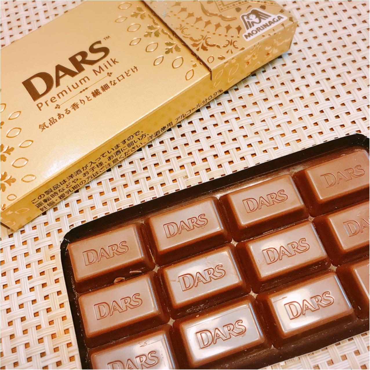 コンビニで買える贅沢チョコ!《ダース プレミアムミルク》もう食べた?♡_2