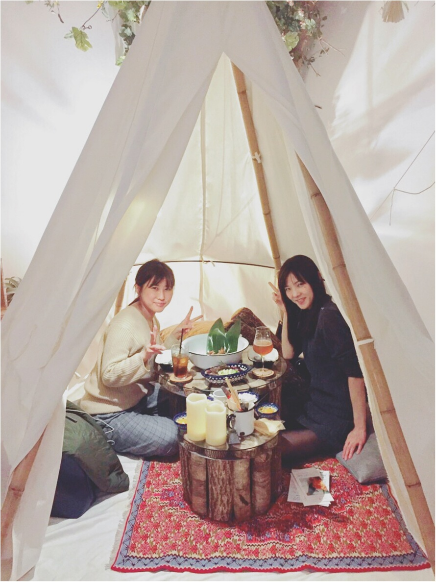 グランピング風カフェが素敵すぎ!武蔵小杉!_6