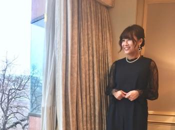 結婚式のお呼ばれドレスとヘアセット専門サロン