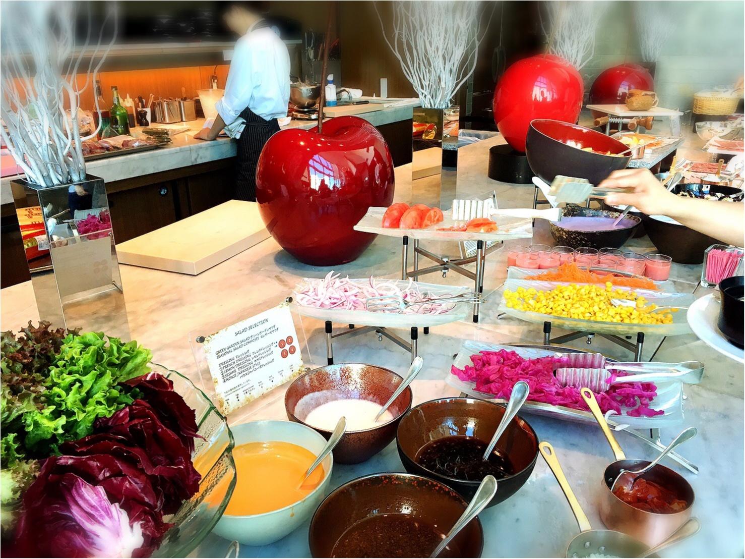 平日お休みをとっていこう!コンラッド東京の朝食ビュッフェが最高。4347円→3500円で♡_15