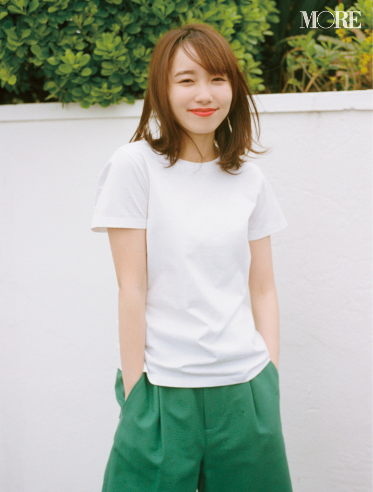 Tシャツ大好き・飯豊まりえが【パックT】を作るなら……? 選抜ブランドはこの3つでした♡_1_5