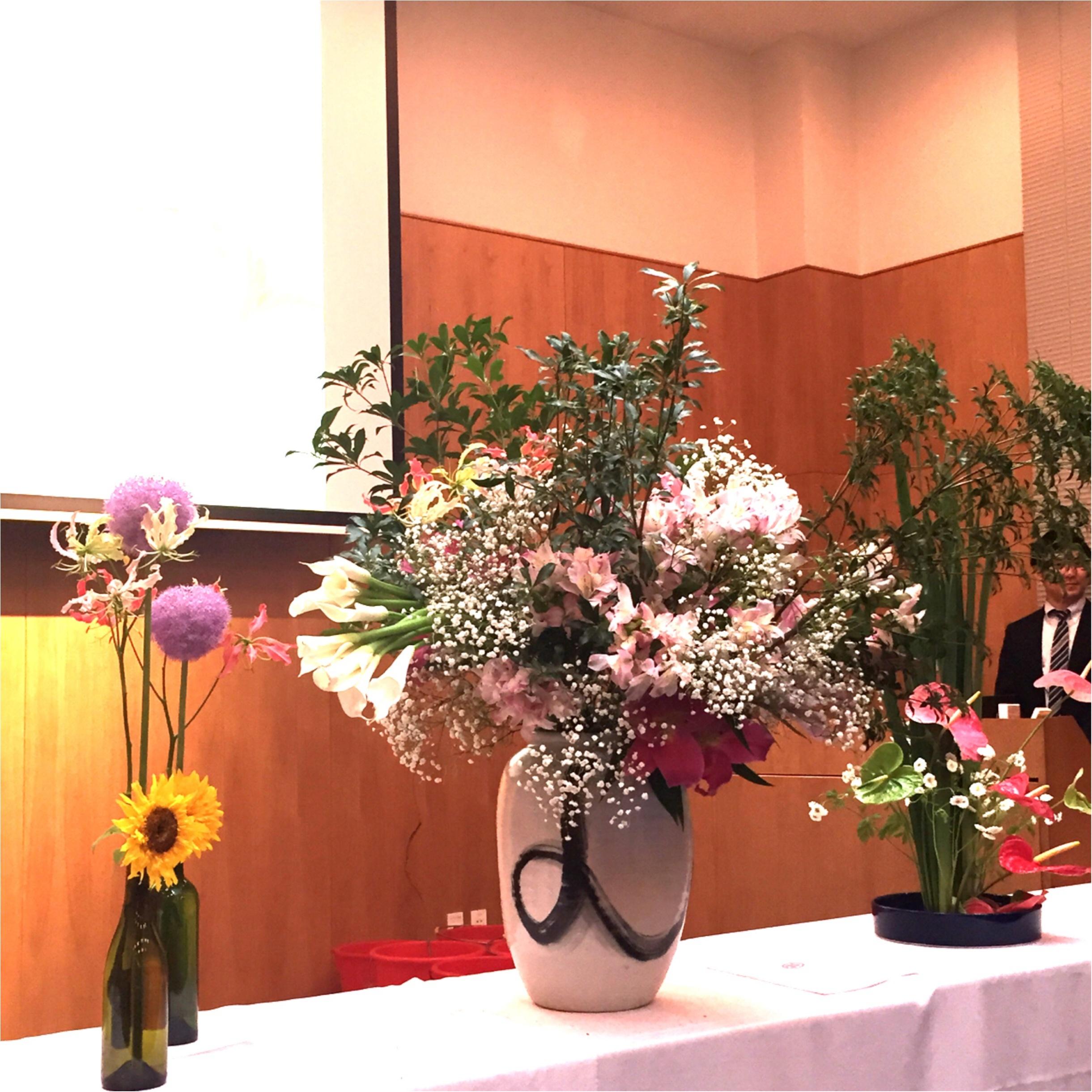 日本文化を世界に発信♪假屋崎省吾さんの華道イベント♡_4