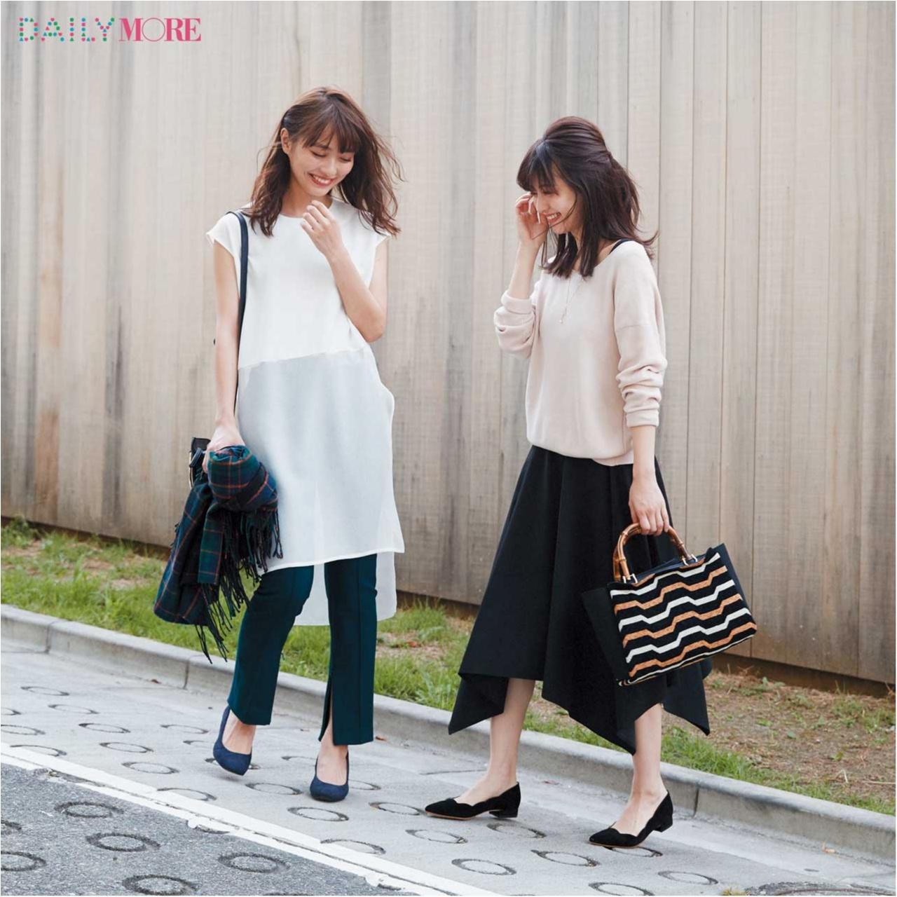 【月→水で同じ服を着てもバレない⁉】秋のお仕事コーデには、着方で激変する2wayワンピがマストです☆_1_4