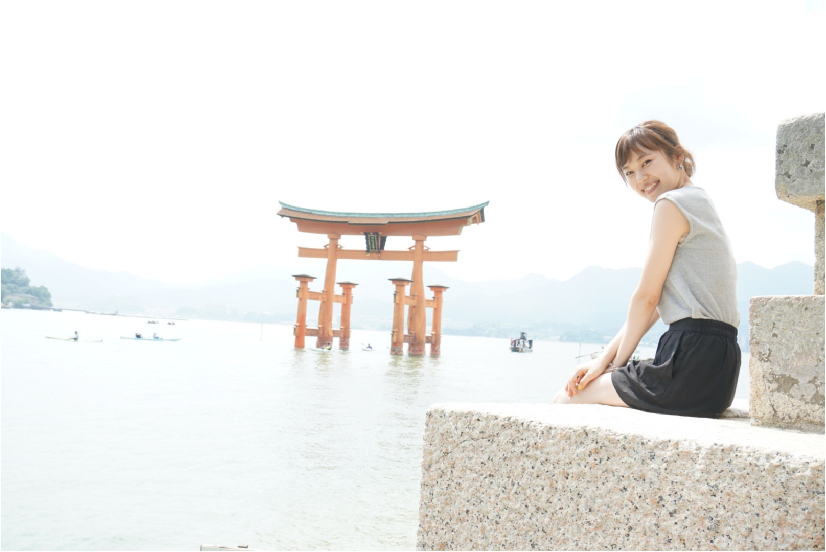 ★ガイドブックを持たずに【宮島】へ。1日密着!したいこと•食べたいもの、ぎゅーっと1日に詰め込んでとても充実した旅に!_16