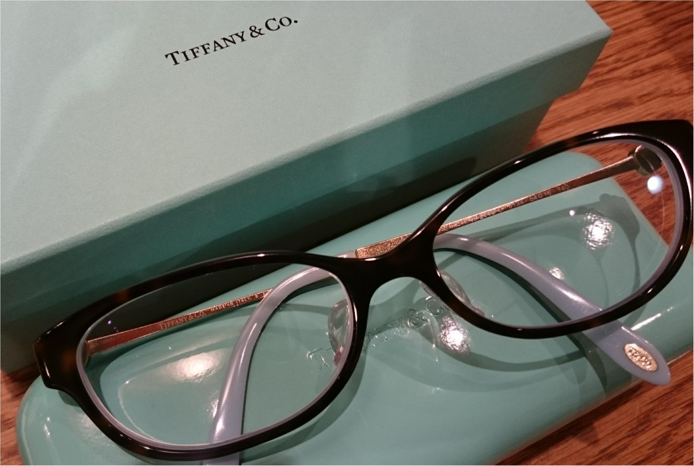 ティファニーの眼鏡で気分UP_1